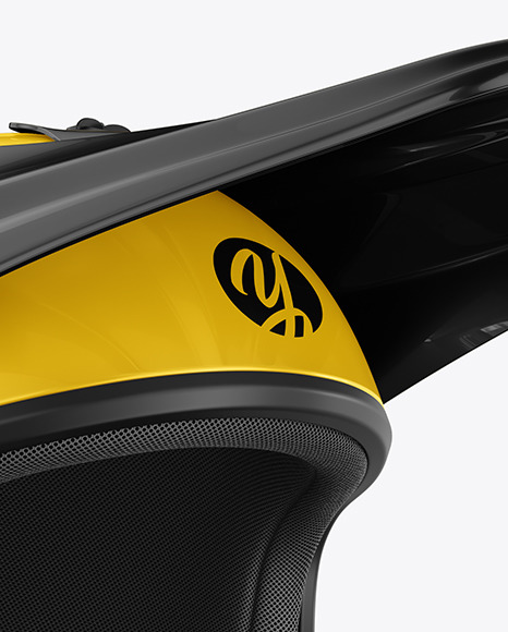 Download Motocross Helmet Mockup in Apparel Mockups on Yellow ...