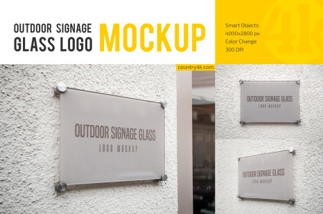 Download 3d Glass Window Logo Mockup Download Yellowimages