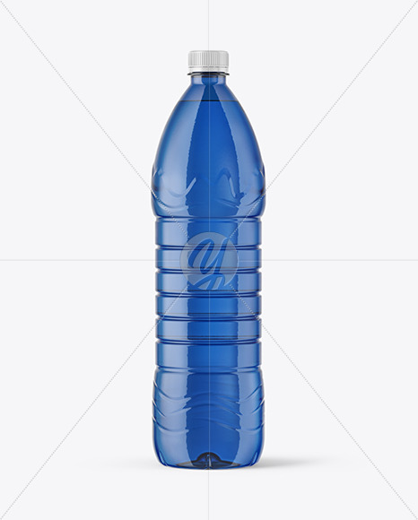 Download Square Plastic Bottle Psd Mockup Yellow Images