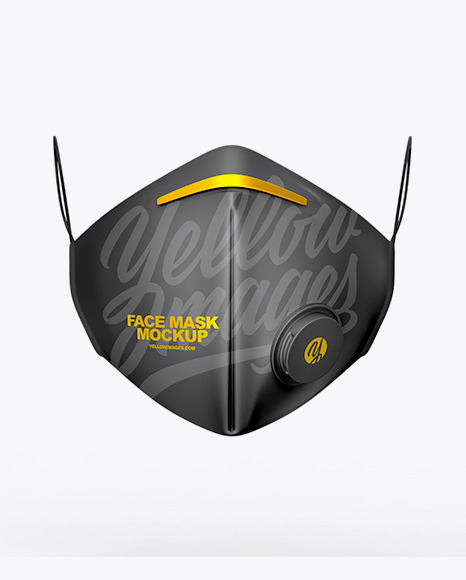 Download Black Face Mask Mockup Free Yellowimages
