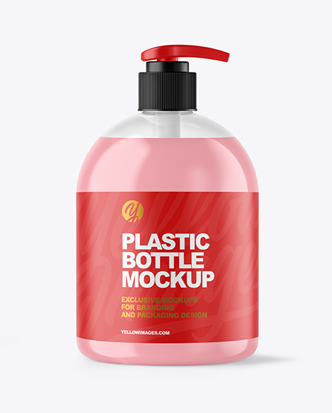 Download Hand Wash Bottle Mockup Free Yellowimages