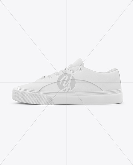 Download Baseball Sneaker Mockup Left Side View Yellowimages