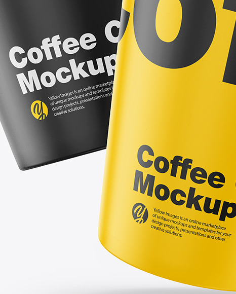 Download Coffee Design Mockup Yellow Images