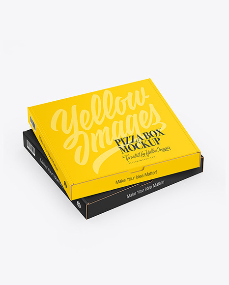 Download Mockup Box Pizza Yellowimages