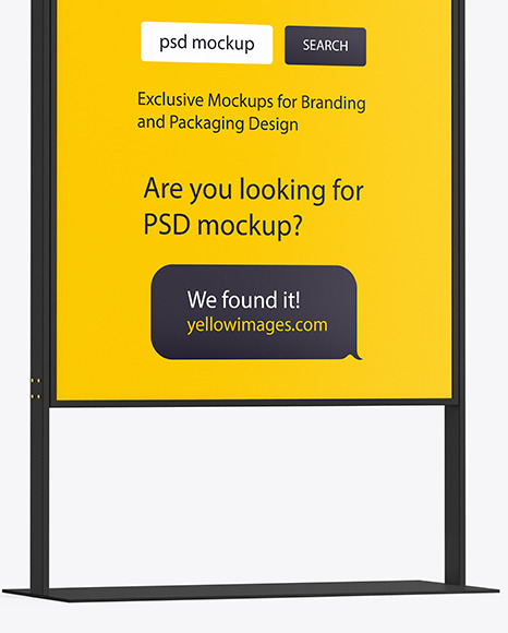 Download Paper Ad Mockup Free Yellowimages