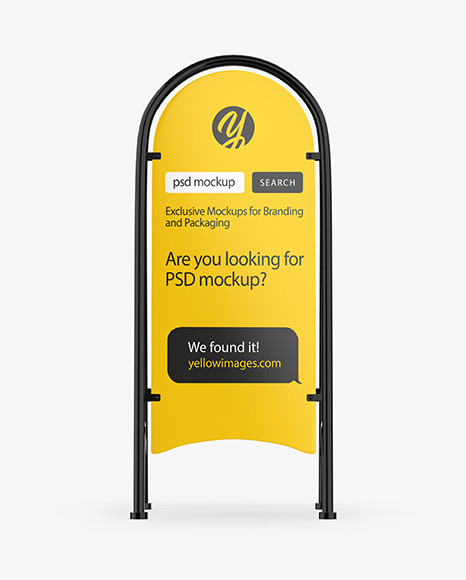 Download Product Stand Mockup Free Yellowimages