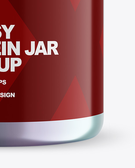 Download Metallized Jar Psd Mockup Yellowimages