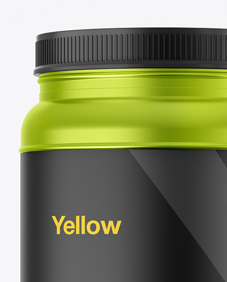 Download Metallized Sport Nutrition Bottle Psd Mockup Yellowimages