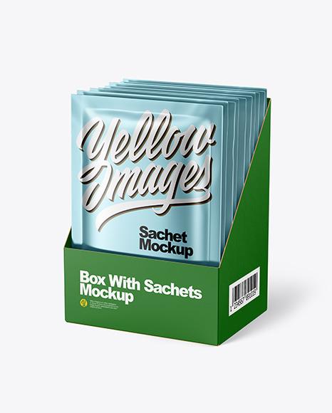 Download Green Jar Paper Box Psd Mockup Yellowimages