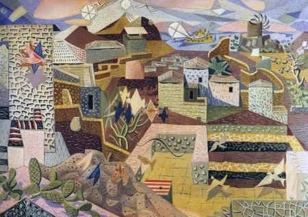 Γκίκας, Μεγάλο τοπίο της Υδρας, 1938.