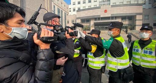 张展被重判说明中国容不下真实的声音