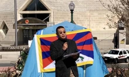 杨建利博士在华府纪念藏人抗暴62周年集会上演讲
