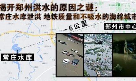 张杰:分析郑州洪水的真实原因