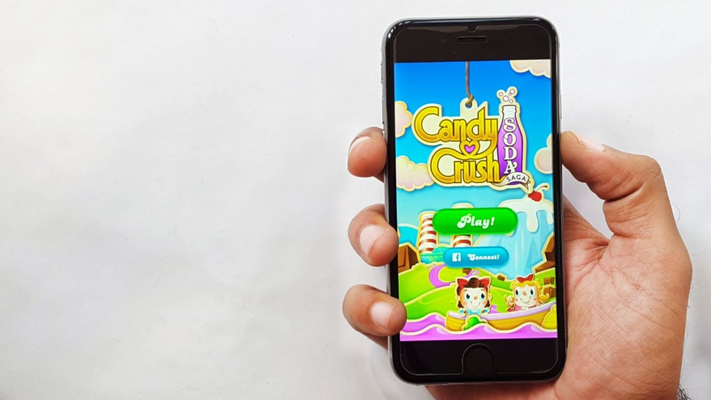 Partie Candy Crush