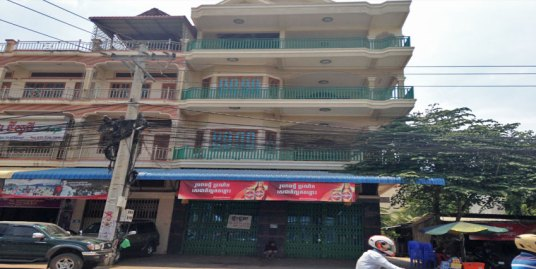 Ta Khmau Roundabout | 2 Row House For Rent