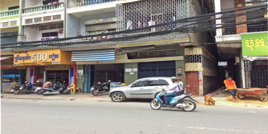 Near Wat Botum Park | Shop House For Sale