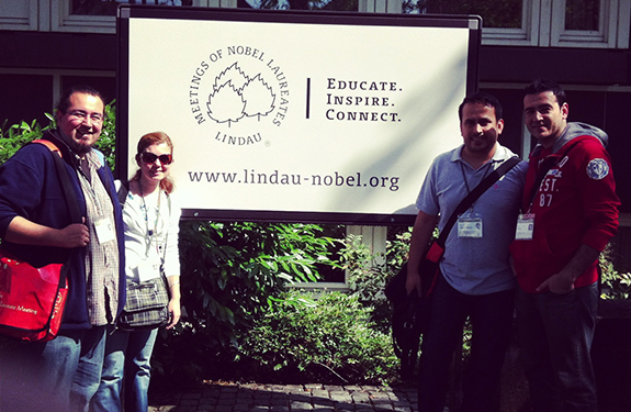 Lindau Nobel Laureate Meeting – Day 1