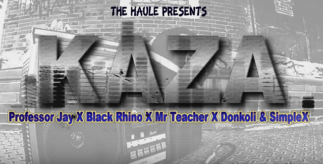 Download Audio: Professor Jay, Black Rhyno x DonKoli x Mr Teacher & Simple X – KAZA