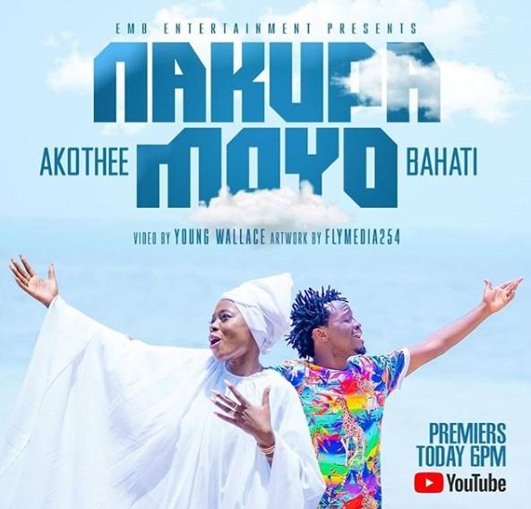 Download Audio: Bahati & Akothee – NAKUPA MOYO