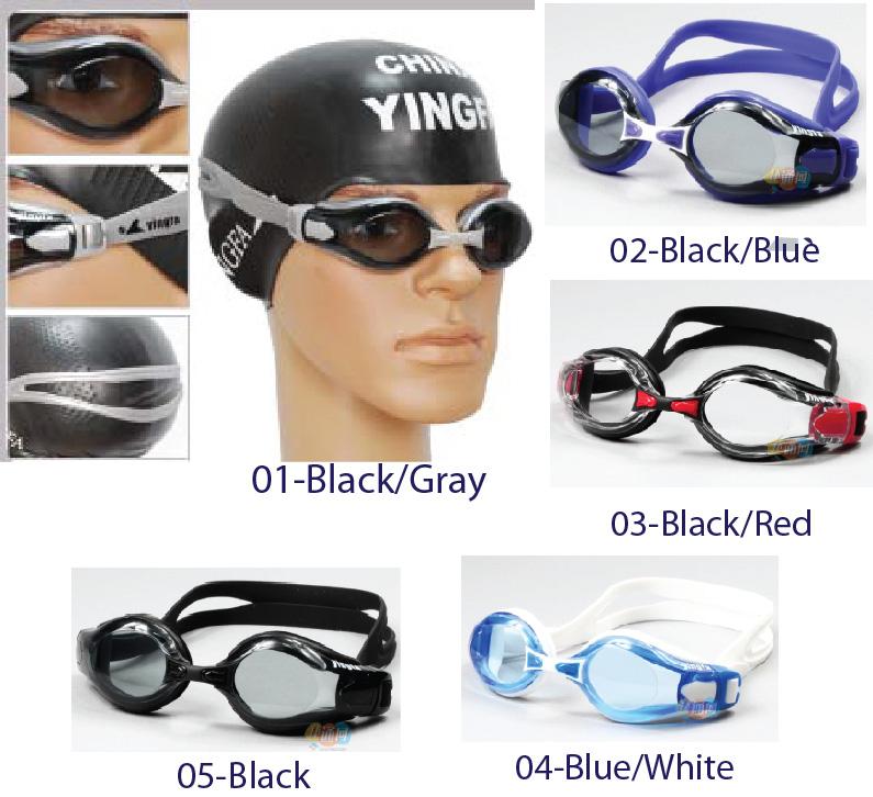 f3f10eb91131 Yingfa 2800AF swimming goggles anti-fog anti-leaking