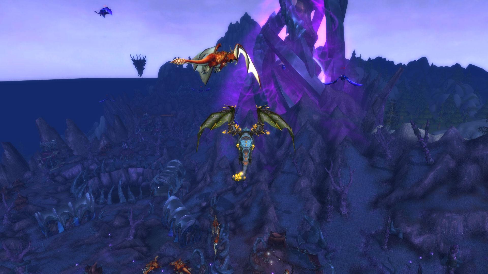 World of Warcraft裡面的龍族及其故事(19/11/14更) (第 2 頁) / 媒體中的龍 / 鱗目界域