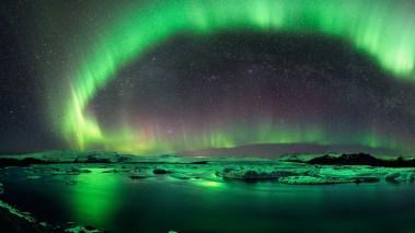 ws_Aurora_Borealis_Iceland_Green_1920x1080