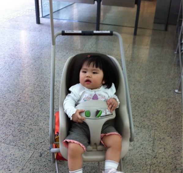 Prams Provided At Changi Airport