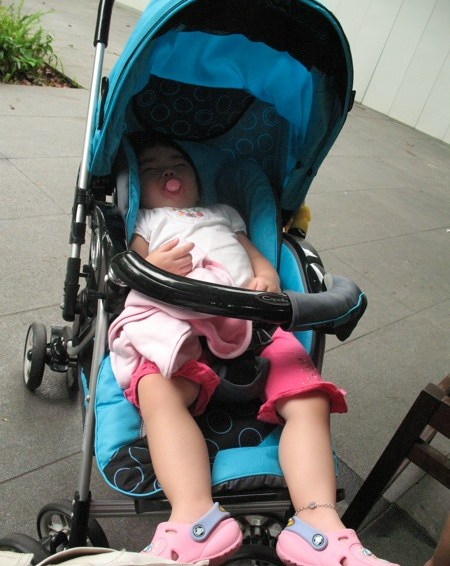 Why Yining Needs A New Stroller