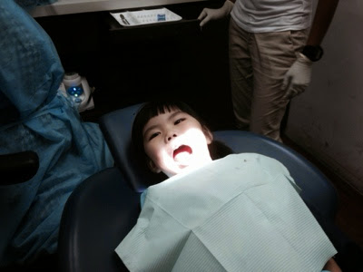 Yining's First Visit To The Dentist