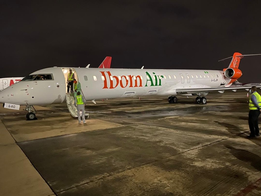Ibom Air expands fleet with the delivery of 5th CRJ-900