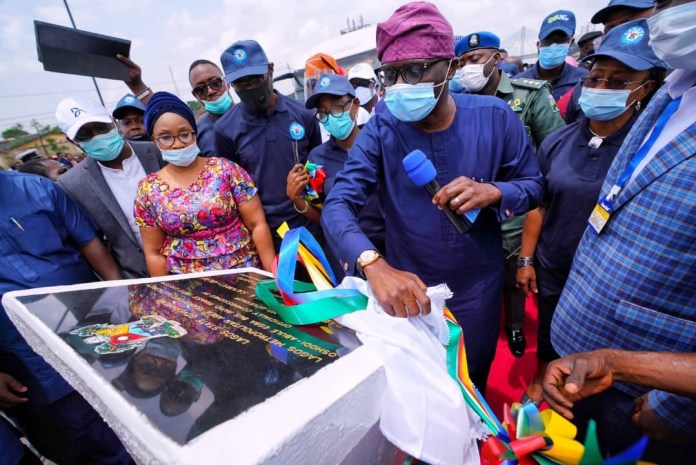 Sanwo-olu commissions 13.68 km Oshodi-Abulegba BRT highway, launches e-ticketing system