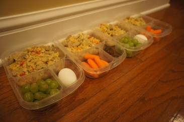 Lunch for the whole week??