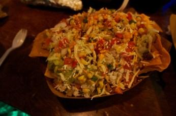 """""""Chronic Tortilla Fritos"""" aka steak nachos"""