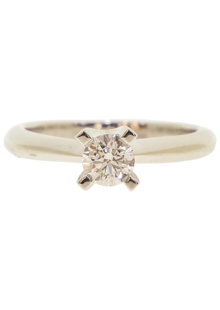 Diamond Solitaire Engagement Ring Image