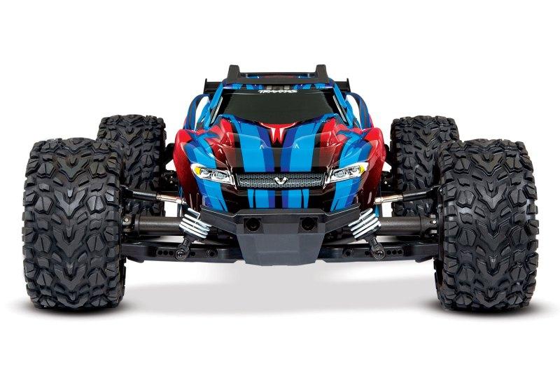 67076-4-Rustler-4x4-VXL-Frontview-BLUE