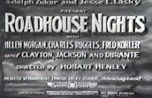 Roadhouse Nights