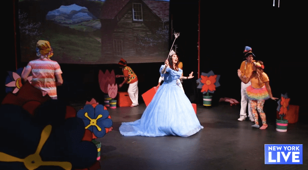 Harlem Repertory Theatre Does the Wizard of Oz Featured on New York Live TV!!