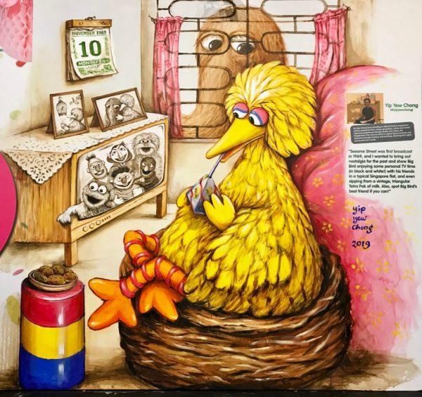 Watching Sesame Street 1969 Art Travel Of Yc