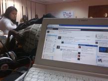 Estudiando con Facebook