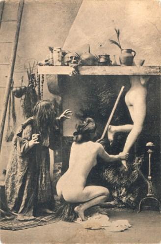 Witches' Sabbat in Paris, ca. 1910 Secuencia 3. Fuente: sexywitch.wordpress.com