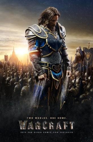 Poster de Anduin Lothar de la película Warcraft: EL origen