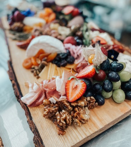 Charcuterie board from Salty Fig Catering.