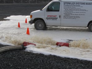Foam Sampling and System Testing