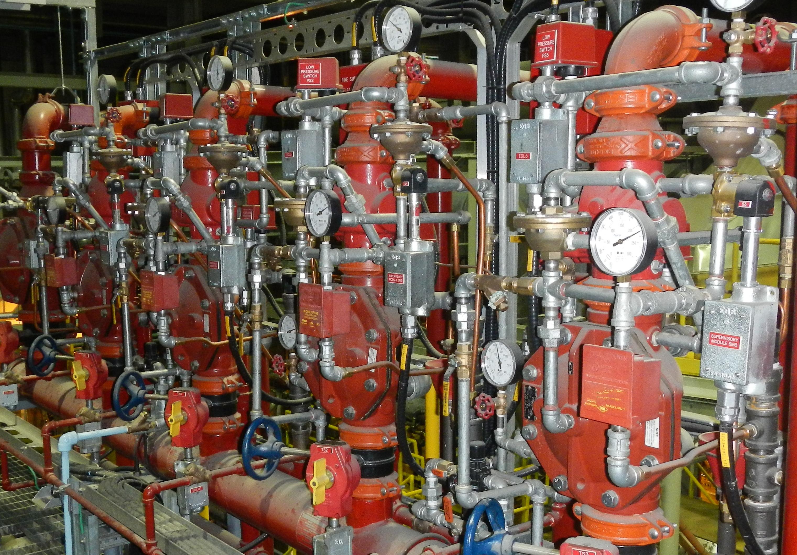 Deluge  Preaction   Fire Prevention Services 2016 Ltd