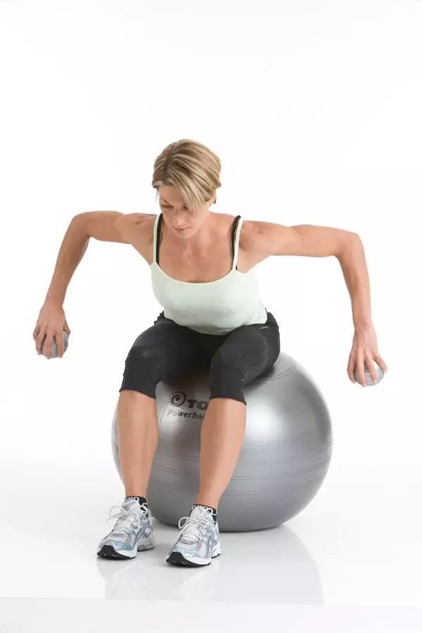 Bóng Tập Thể Hình Powerball ABS 75Cm