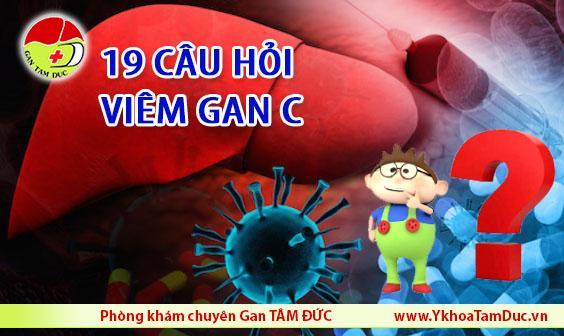 Viêm gan C – 19 câu hỏi thường gặp giải đáp mọi thắc mắc của bạn 19 cau hoi thuong gap ve viem gan c viem gan virus c