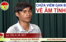 Điều trị viêm gan B về âm tính - Chia sẻ của anh Tâu A Xá Nép (tỉnh Ninh Thuận)