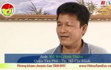 Điều trị viêm gan B tại Phòng khám Gan Tâm Đức - Anh Đỗ Bùi Đình Thiên chia sẻ