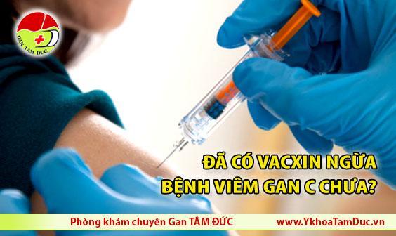 Đã có vacxin ngừa bệnh viêm gan C chưa HCV