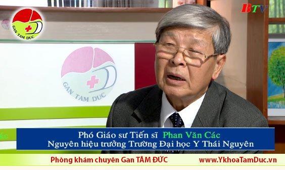 thảo dược quý chữa viêm gan b đài truyền hình bình dương BTV pgs phan văn các